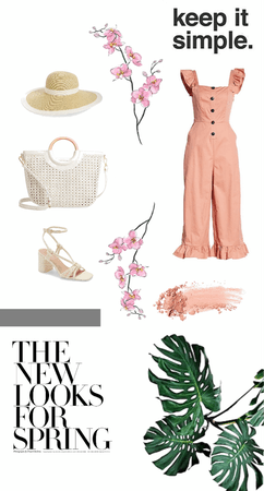 tropical vibes spring outfit
