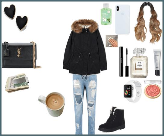 Winter Walk To Coffee
