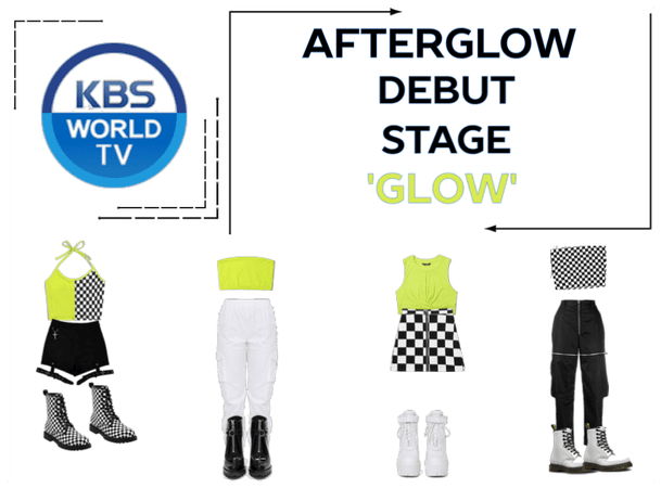 AFTERGLOW Debut Stage 'Glow'
