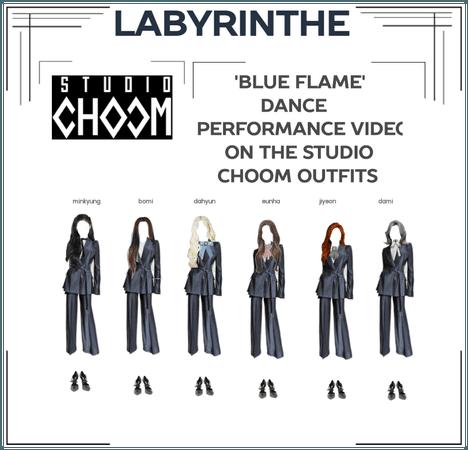 LABYRINTHE BLUE FLAME STUDIO CHOOM OUTFITS