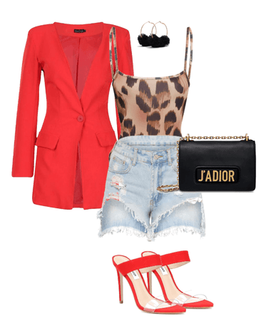 Red Leopard Ting