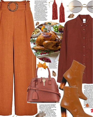 thanksgiving with rust and red