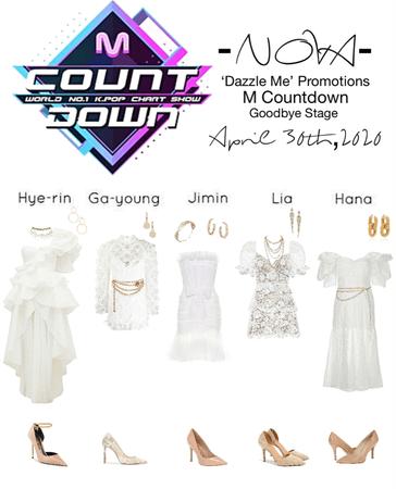 -NOVA- 'Dazzle Me' M Countdown Stage