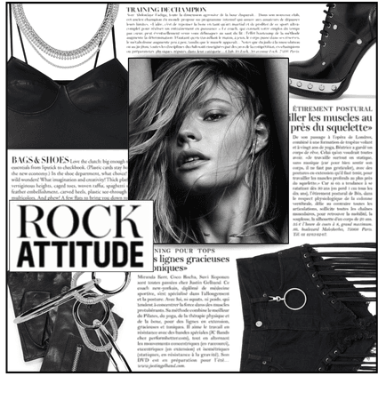 Fashion File: Glam Punk Is My Dream Style