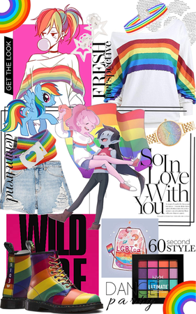 Rainbow Dash Pride Outfit
