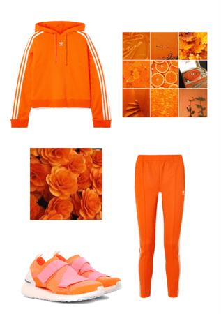 Orange Adidas 🍊 🧡