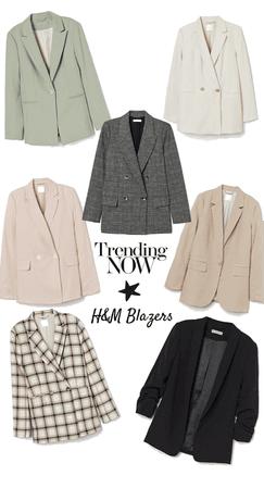 H&M Blazers