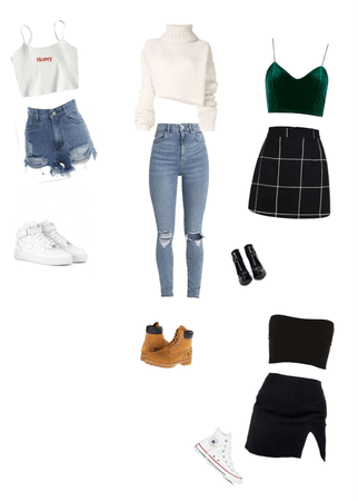 four outfits