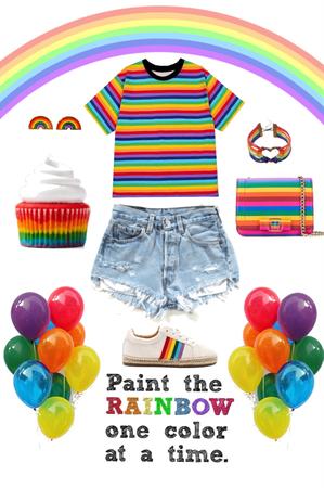 Spring Trend: Rainbow Style