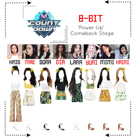 ⟪8-BIT⟫ 'Power Up' Comeback Stage #4 - M Countdown