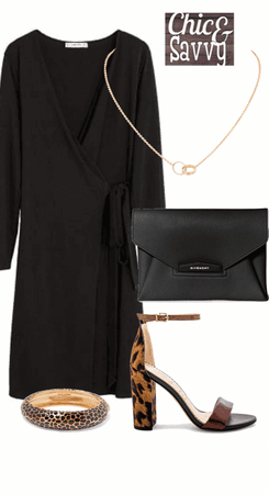 Neutral base statement outfit