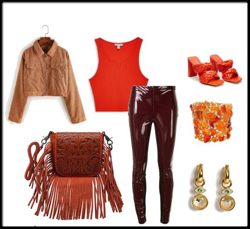 boho  pumpkin trendy