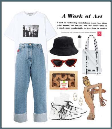Art School Style