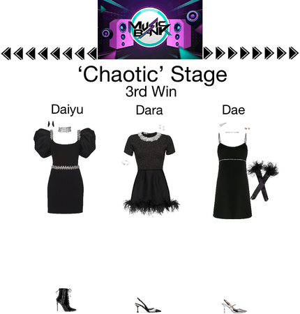 {3D}Chaotic Music Bank Stage + 3rd Win