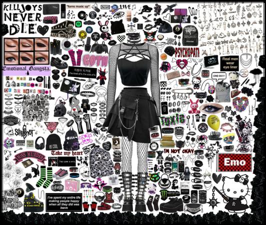 #Goth #Emo