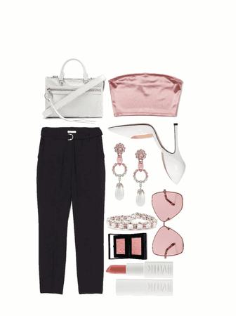 pinkie white