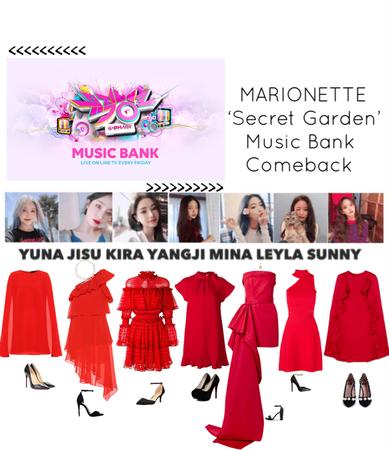 {MARIONETTE} Music Bank Comeback Stage 'Secret Garden'