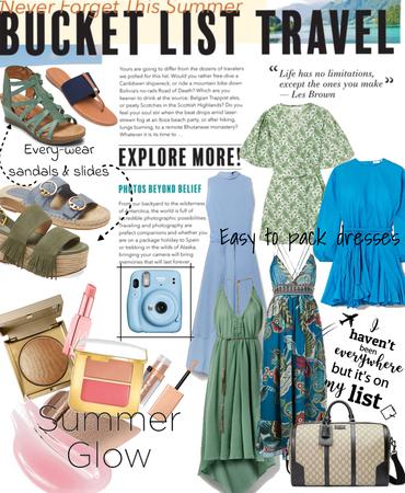 Summer Bucket List Travel