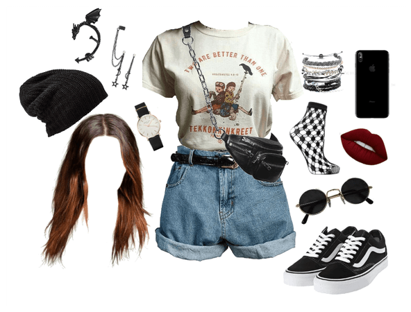 Beanie hat and grunge? Nah. Just chill