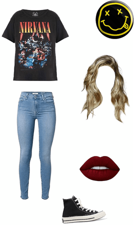 nirvana concert outfit