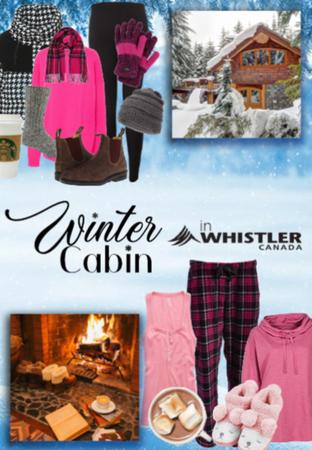 Winter Cabin in Whistler