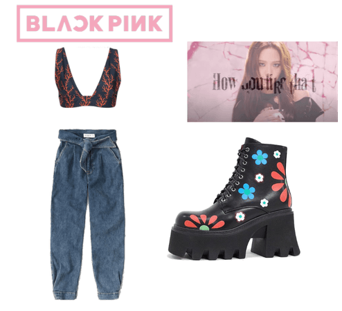 "BLACKPINK ""HOW YOU LIKE THAT"" JISOO OUTFIT"