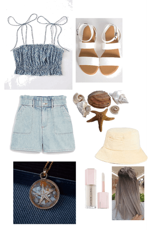 summer/beach look🦋