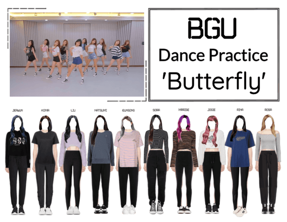 BGU 'Butterfly' Dance Practice