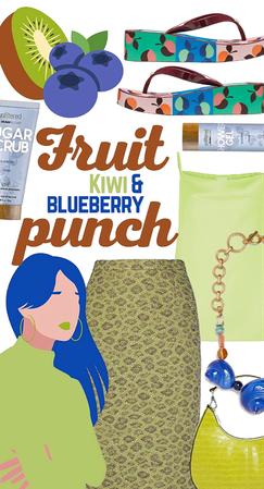 Fruit Punch: Kiwi & Blueberry