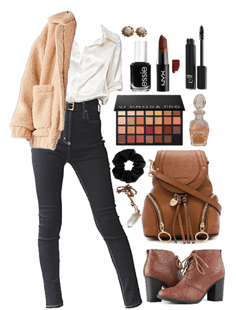 Neutral College Outfit