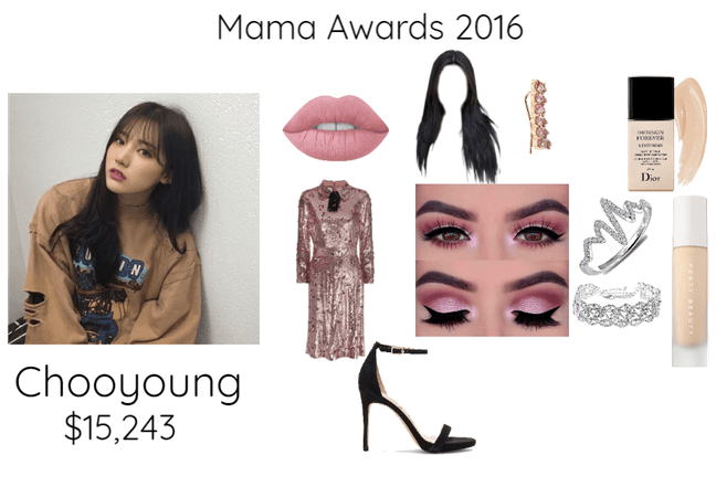 Mama Awards 2016 Chooyoung