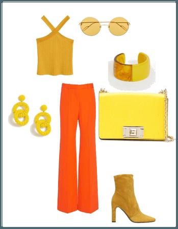 Yellow Analogous