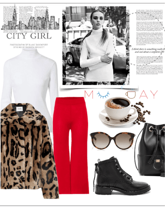 red& leopard