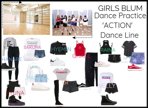 Girls Blum - dance pratic - ACTION