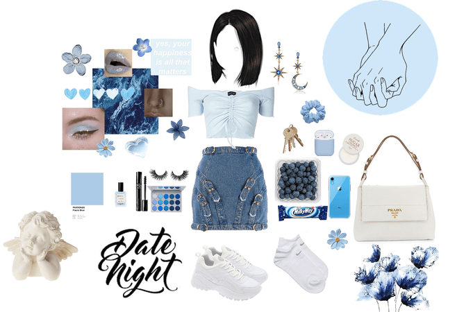 blue date night