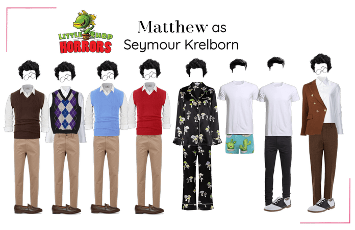 Matthew as Seymour Krelborn