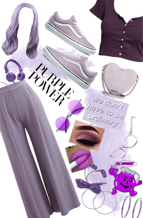 sooo much purple