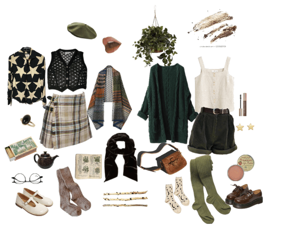 Concept: Earthy Comforts