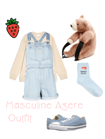 Masculine Agere Outfit