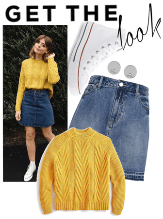 Get the yellow sweater