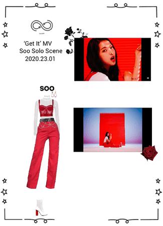 INFINITY (무한대) - 'Get It' MV - SOO SOLO SCENE