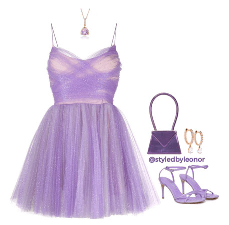 Fairy Party Lavender Look