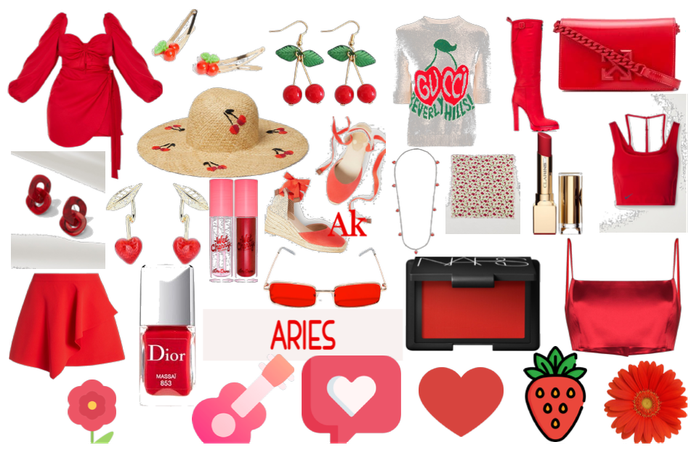 red | aries