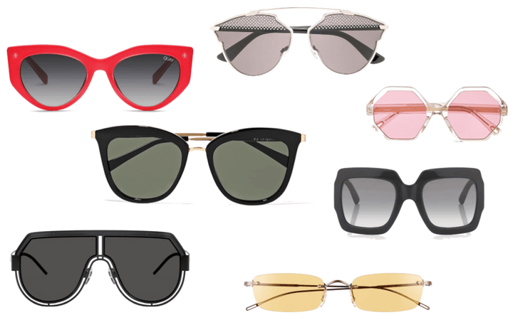 Sunglasses Moodboard