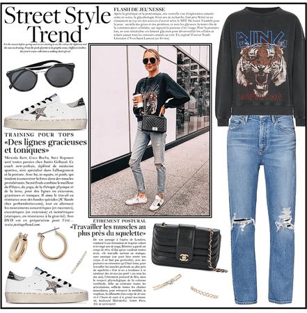 Summer Street Style - Rocker Chic