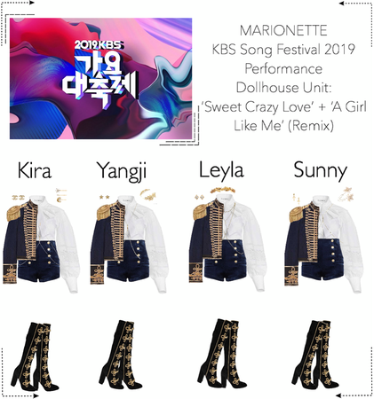 MARIONETTE (마리오네트) KBS Song Festival 2019 | Performance: Unit