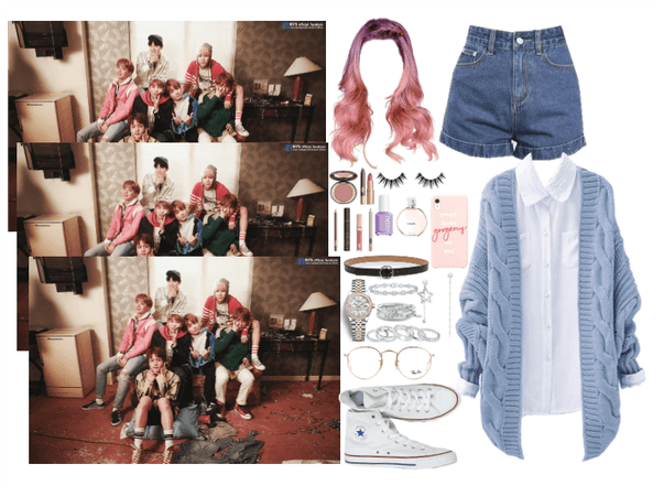 the 8th member: Spring Day outfit1