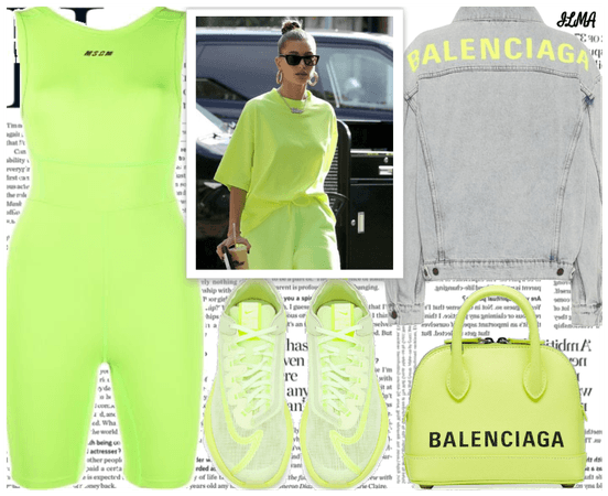 Neon Green Outfit