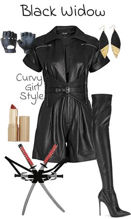 Comic-Con: Black Widow (Marvel) (The Avengers) (Curvy Girl Style)