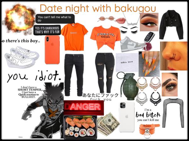 Date Night with bakugou